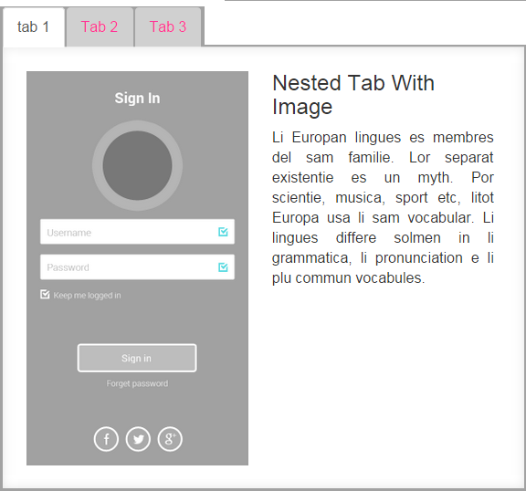 bootstrap tabs tutorial