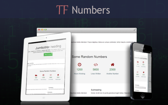 Number Counter Animation WordPress Plugin – TF Numbers