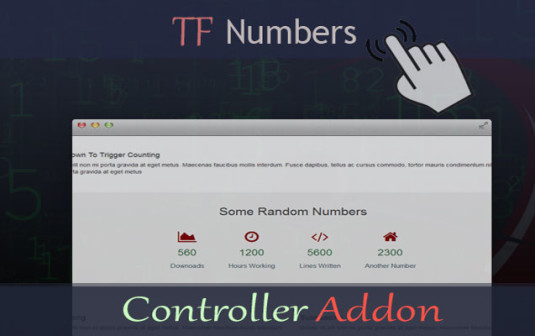 TF Numbers – Controller Addon