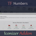 TF Numbers – Iconizer Addon