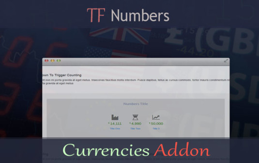 TF Numbers – Currencies Addon